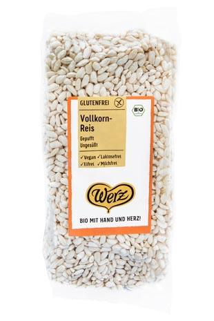 Vollkorn Reis gepufft