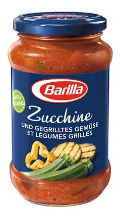 Pastasauce Zucchine & gegrilltes Gemüse