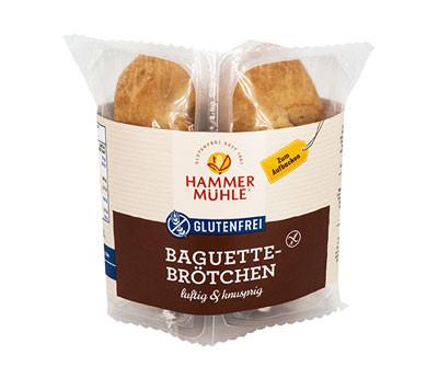 Baguettebrötchen luftig & knusprig