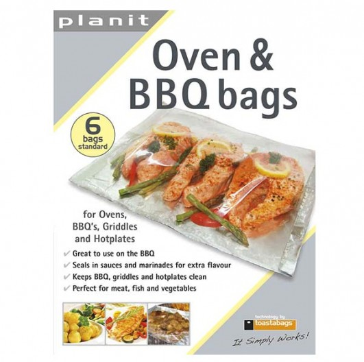 Oven & BBQ bags 6 Stück