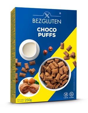 Choco Puffs Kakaopuffer mit Haselnussfüllung