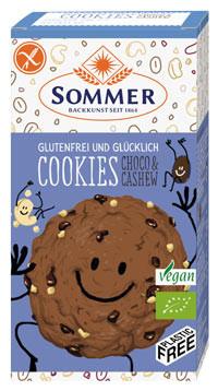 Bio Cookies Choco & Cashew