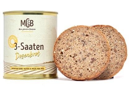 3-Saaten-Brot Dosenbrot