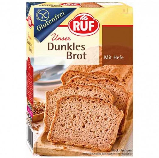 Dunkles Brot Backmischung