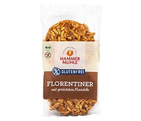 Bio Florentiner mit gerösteten Mandeln