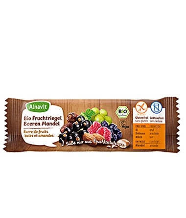 Bio Fruchtriegel Beeren Mandel