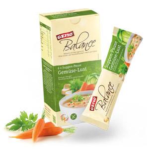 Balance 6 x Suppen-Pause Gemüse-Lust