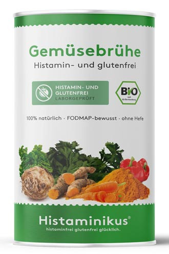 Bio Gemüsebrühe histaminfrei