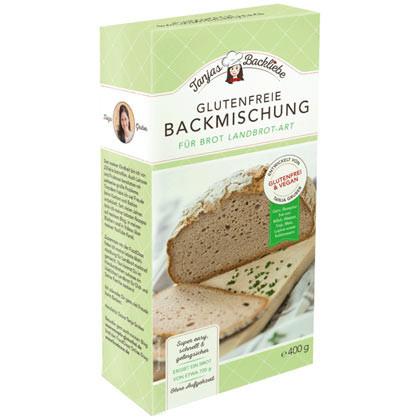 Glutenfreie Backmischung für Brot Landbrot-Art