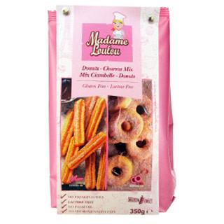 Backmischung für Donuts und Churros