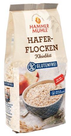 Haferflocken Kleinblatt glutenfrei