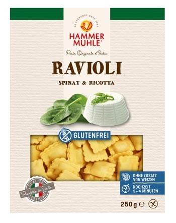 Ravioli mit Spinat & Ricotta
