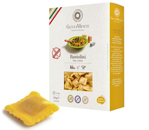 MHD*** 31.12.18 Glutenfreie Raviolini mit Ricotta, Kartoffeln & Huhn