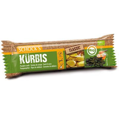 Bio Kürbis Krokant Riegel