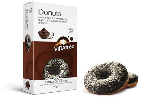 Glutenfreie Donuts Schokoglasur & Kokos