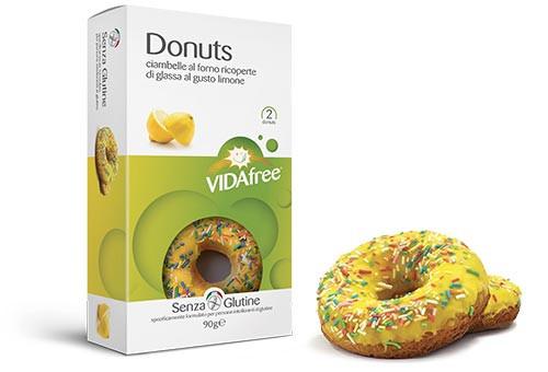 Glutenfreie Donuts Zitrone