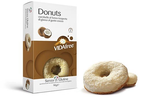 Glutenfreie Donuts Kokos