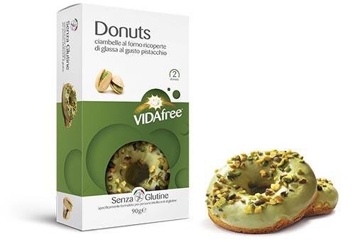 Glutenfreie Donuts Pistazie