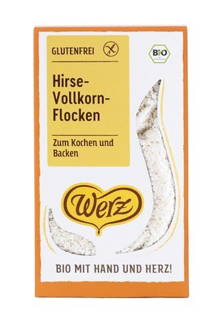 Vollkorn Hirse Flocken
