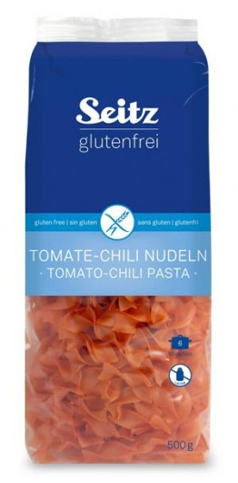 Tomate-Chili Bandnudeln