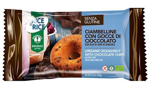 Glutenfreie Donuts mit Schokolade