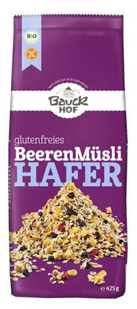 Glutenfreies Hafermüsli mit Beeren