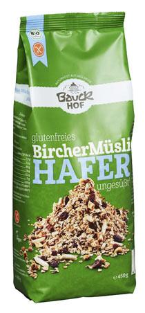 Glutenfreies Hafermüsli Bircher