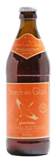 Bio glutenfreies Malzgetränk Storch im Glück 12 x 0,5 l (MEHRWEG)