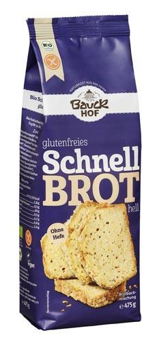 Glutenfreies Schnell Brot hell