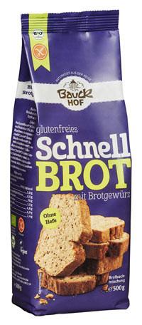 Glutenfreies Schnellbrot mit Brotgewürz