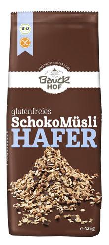 Glutenfreies Schoko Müsli Hafer