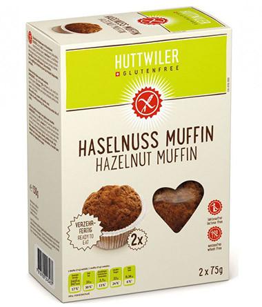 Haselnuss Muffin