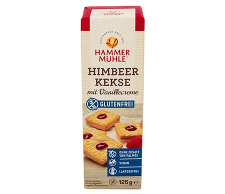 Himbeer Kekse mit Vanillecreme