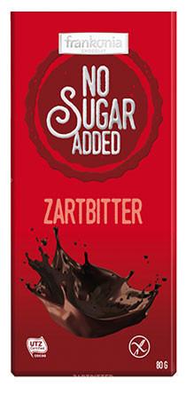 No Sugar Added Zartbitter Schokolade