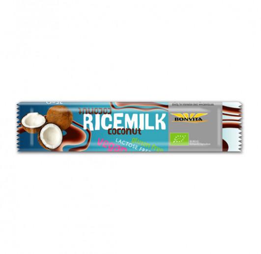 Ricedrink Schokoladenkuvertüre mit Kokos