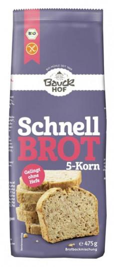 Schnellbrot 5-Korn glutenfrei