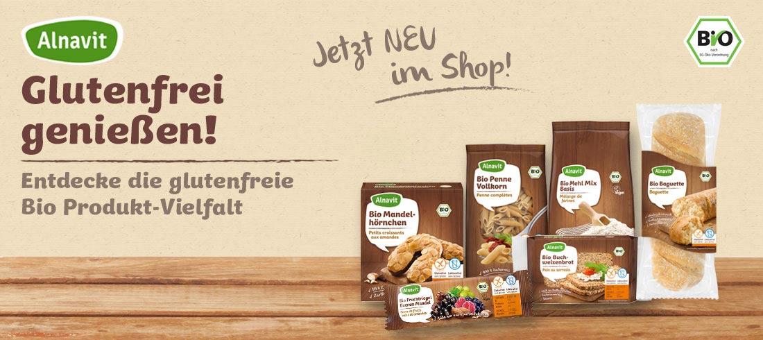Alnavit glutenfrei - Bei Glutenunverträglichkeit hier einkaufen!