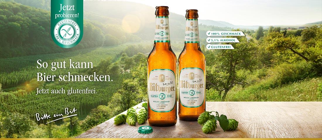 Bitburger glutenfreies Bier - Bei Glutenunverträglichkeit hier einkaufen!