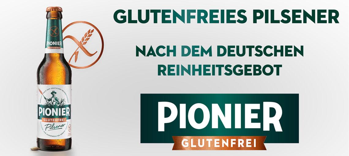 Glutenfreies Bier von Pionier - Bei Glutenunverträglichkeit hier einkaufen!