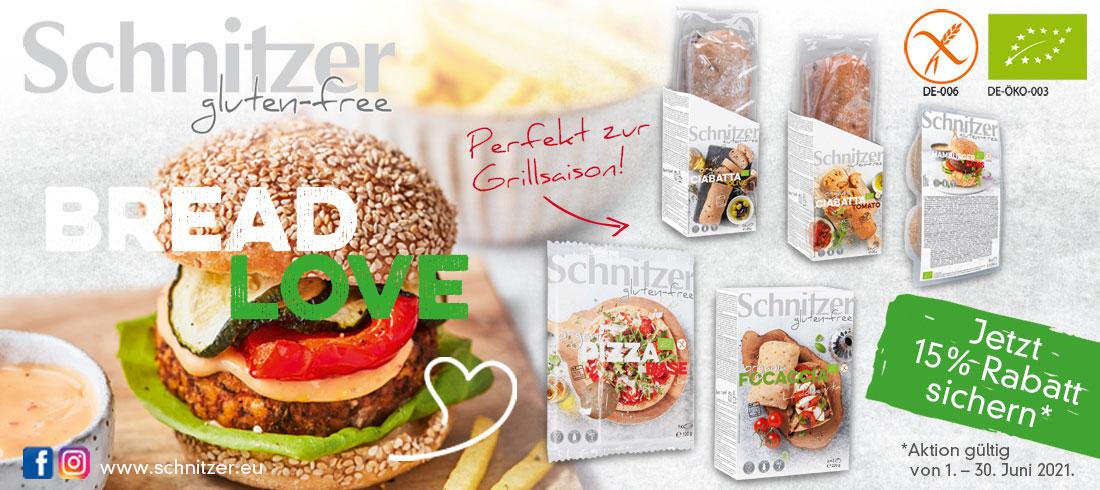 Schnitzer Aktion - Bei Glutenunverträglichkeit hier einkaufen!