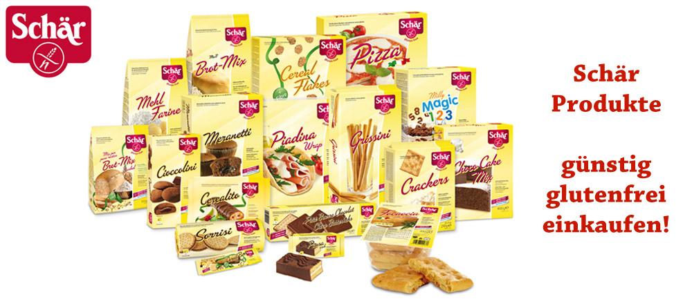 Schär glutenfrei - Bei Glutenunverträglichkeit hier einkaufen!